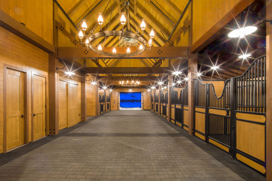 Avr Horse Barn Michael Fuller Architects